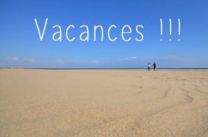 Vacances, une plage déserte