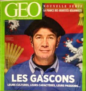 Lou Jan de Buros en Couverture Géo Mars 2014